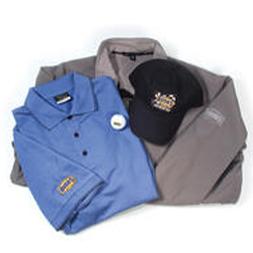 Bush's Beans Dress Shirt, Polo, and Hat