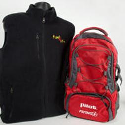 Pilot/Flying J Vest and Backpack